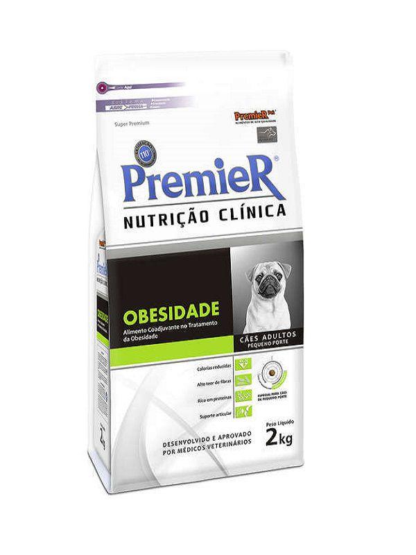 Ração Premier Nutrição Clínica Obesidade Cães Adultos Raças Pequenas