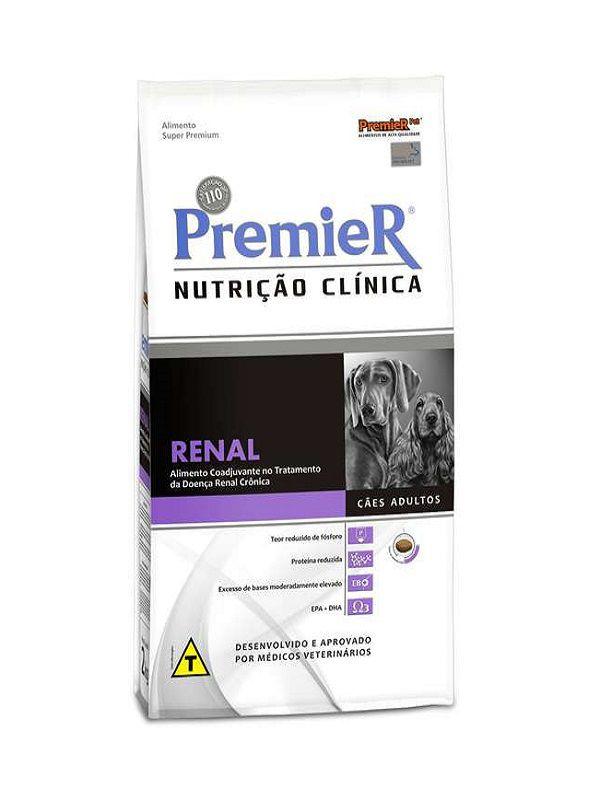 Ração Premier Nutrição Clínica Renal Cães Adultos