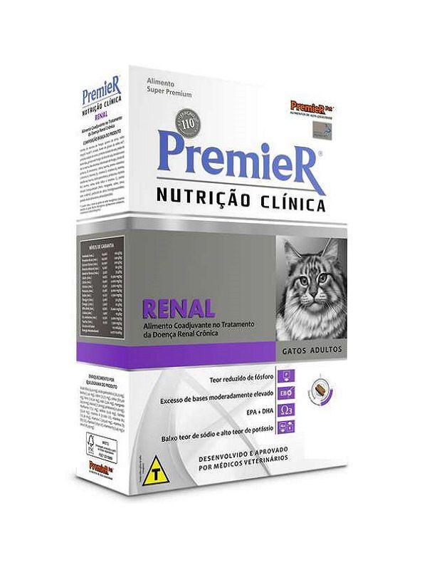 Ração Premier Nutrição Clínica Renal Gatos Adultos