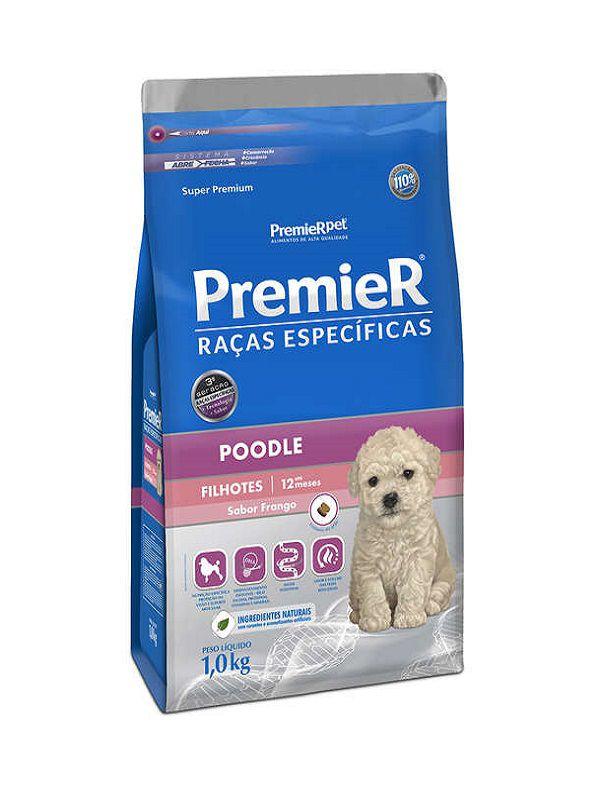 Ração Premier Poodle Cães Filhotes 1Kg