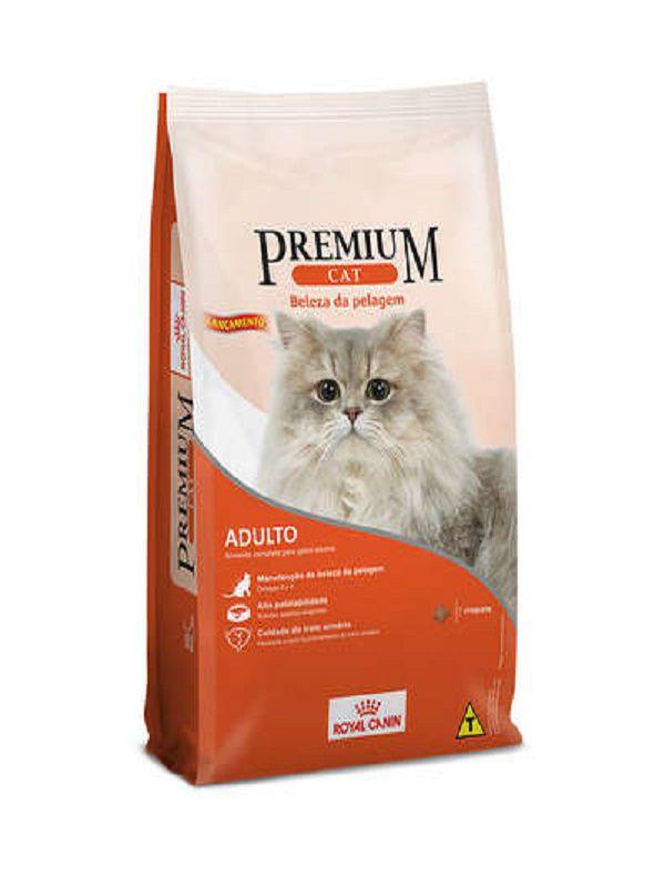 Ração Premium Cat Beleza da Pelagem Gatos Adultos