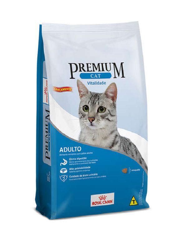 Ração Premium Cat Vitalidade Gatos Adultos