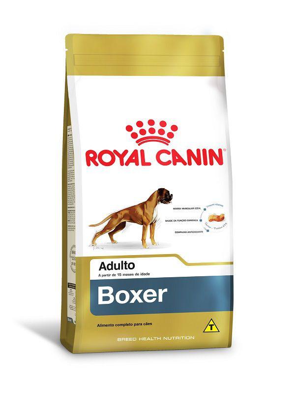 Ração Royal Canin Boxer Cães Adultos 12kg