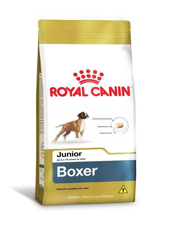 Ração Royal Canin Boxer Cães Filhotes 12kg