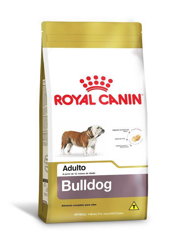 Ração Royal Canin Bulldog Inglês Cães Adultos 12Kg