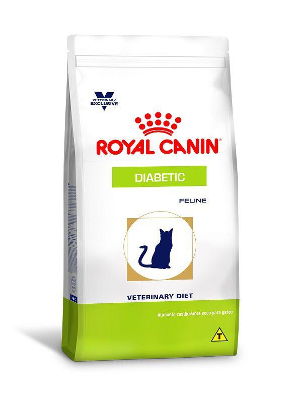 Ração Royal Canin Diabetic Gatos Adultos 1,5kg