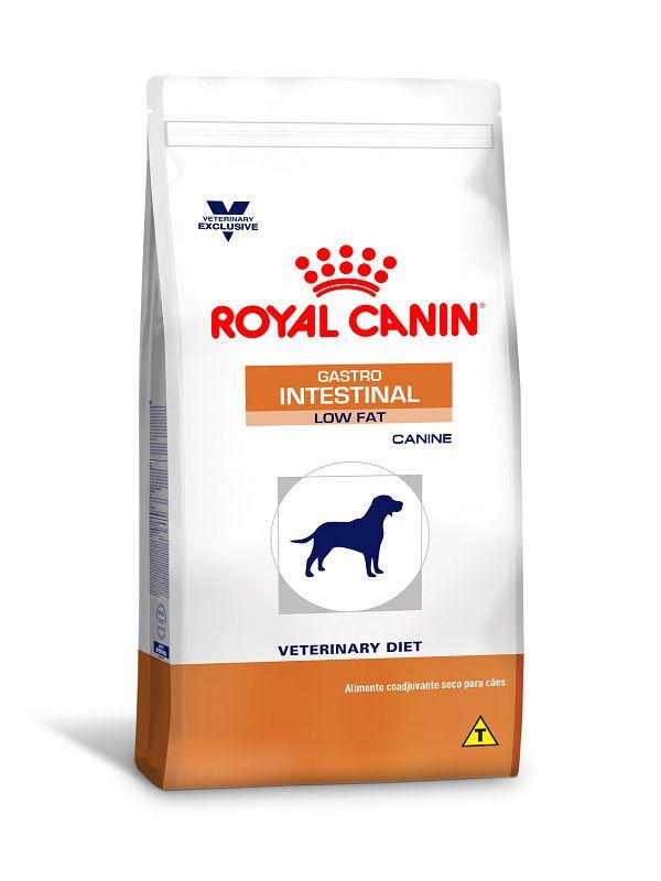 Ração Royal Canin Gastro Intestinal Low Fat Cães Adultos