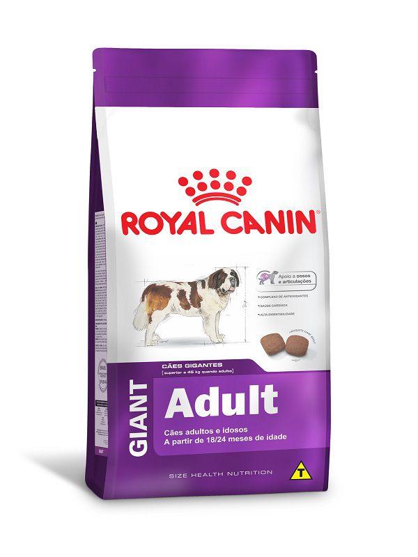 Ração Royal Canin Giant Cães Adultos ou Idosos 15kg