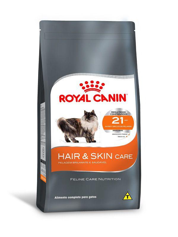 Ração Royal Canin Hair & Skin Gatos Adultos 1,5kg