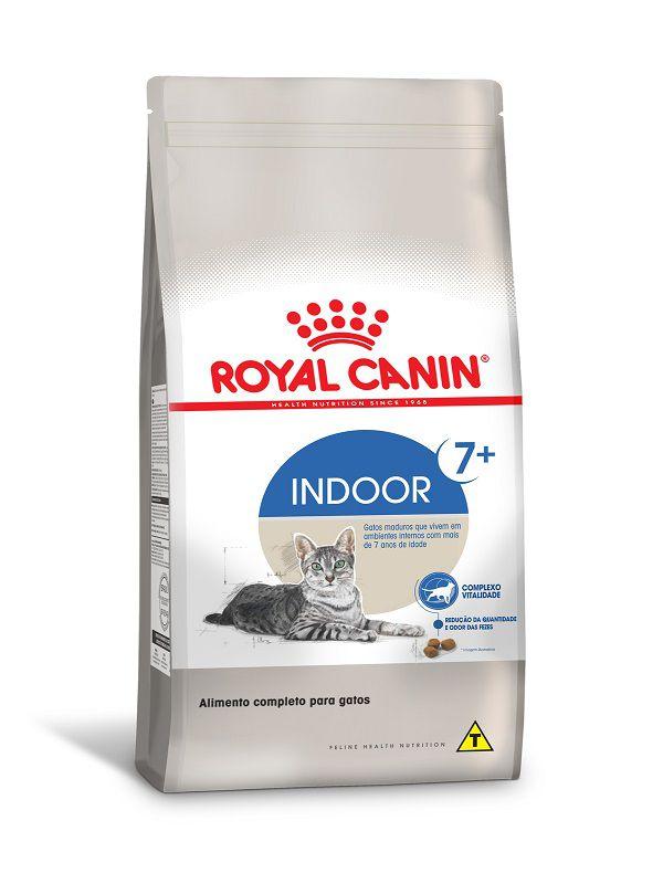 Ração Royal Canin Indoor 7+ Gatos Adultos