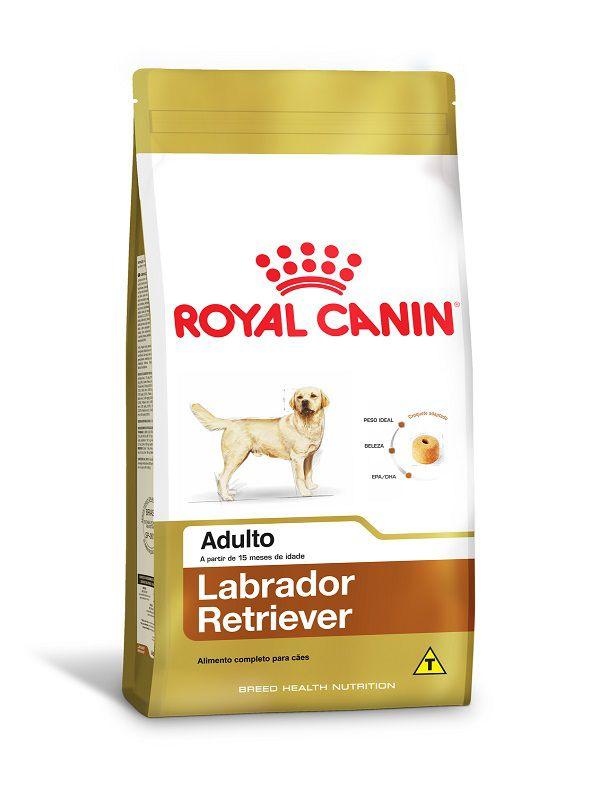 Ração Royal Canin Labrador Retriever Cães Adultos 12kg