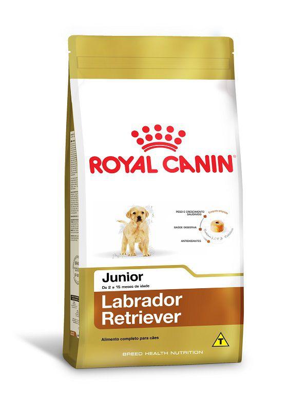 Ração Royal Canin Labrador Retriever Cães Filhotes 12kg