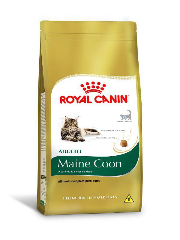 Ração Royal Canin Maine Coon Gatos Adultos