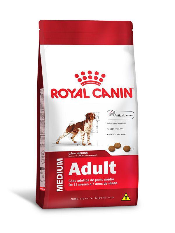 Ração Royal Canin Medium Cães Adultos