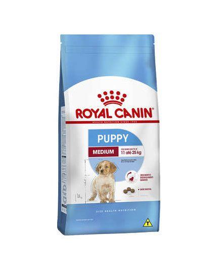 Ração Royal Canin Medium Junior Cães Filhotes