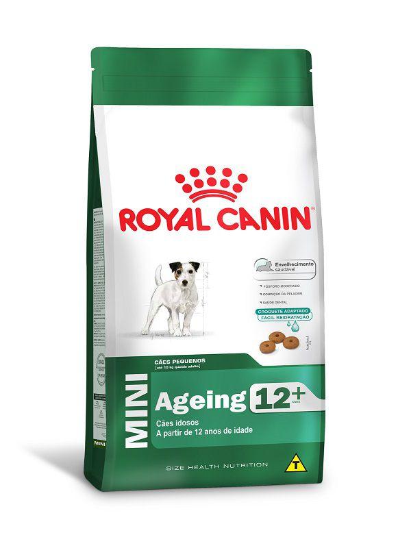 Ração Royal Canin Mini Ageing 12+ Cães Adultos