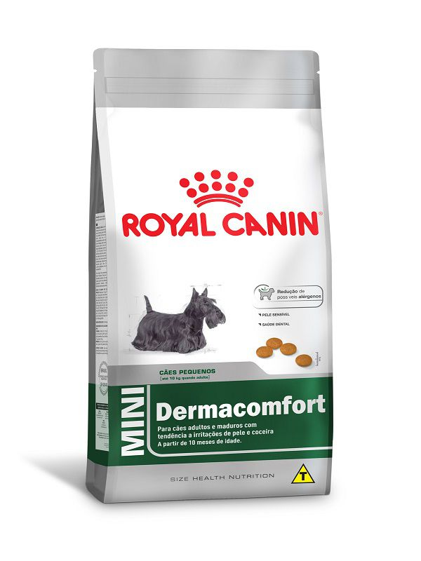 Ração Royal Canin Mini Dermaconfort Cães Adultos