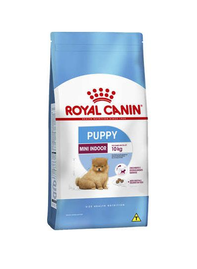 Ração Royal Canin Mini Indoor Cães Filhotes