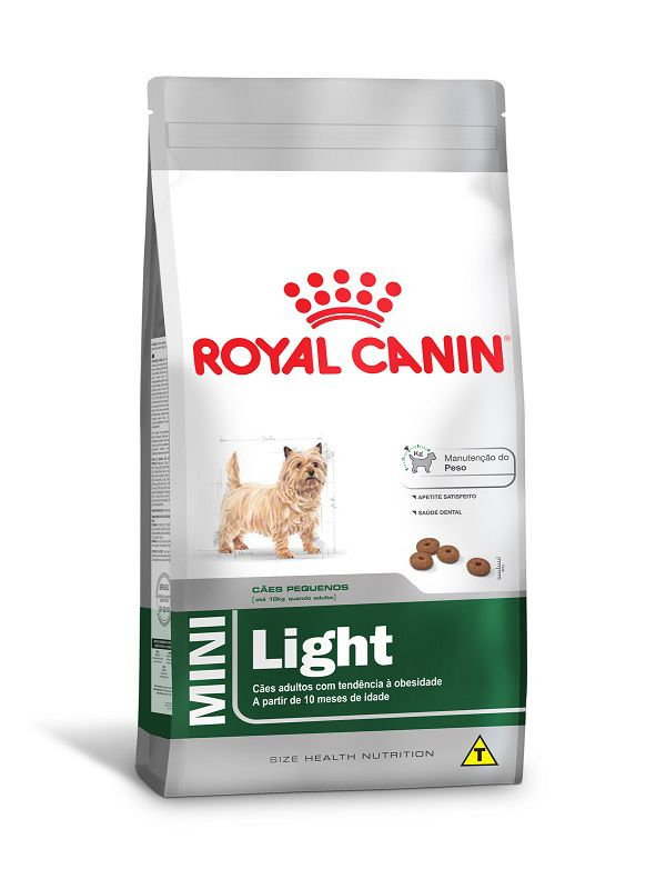 Ração Royal Canin Mini Light Cães Adultos