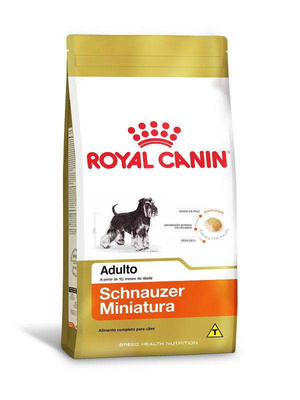 Ração Royal Canin Miniature Schnauzer Cães Adultos