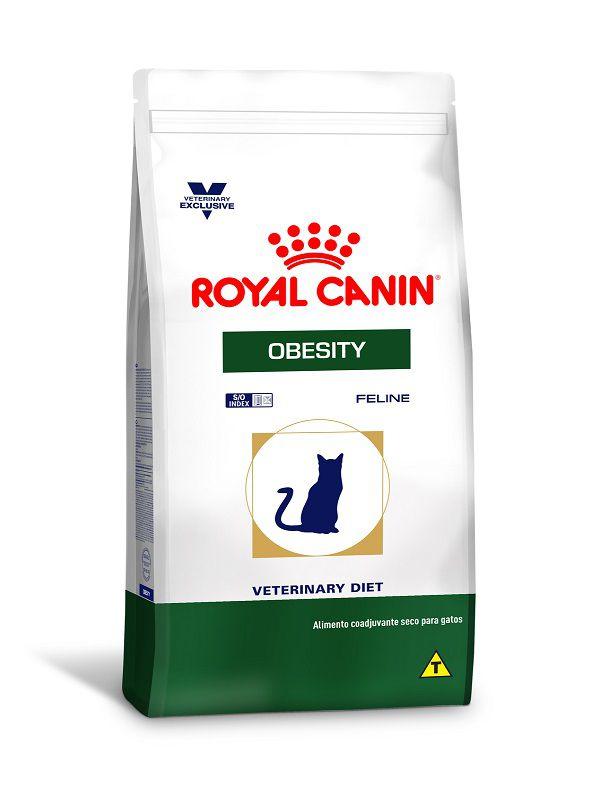 Ração Royal Canin Obesity Gatos Adultos 1,5Kg
