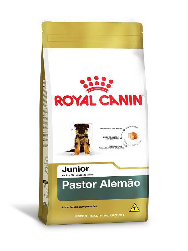 Ração Royal Canin Pastor Alemão Cães Filhotes 12kg
