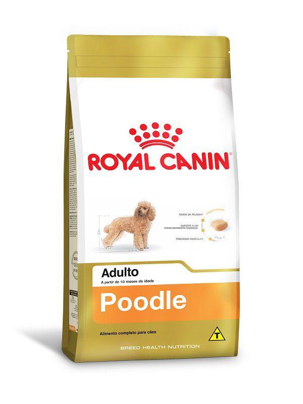 Ração Royal Canin Poodle Cães Adultos