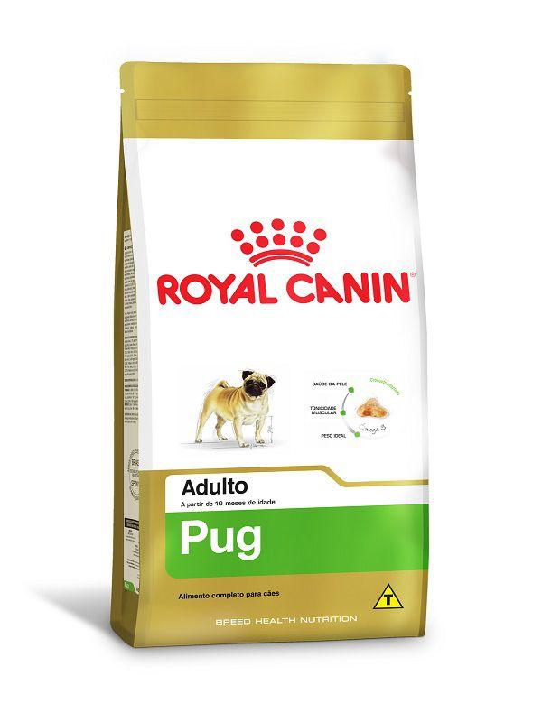 Ração Royal Canin Pug Cães Adultos