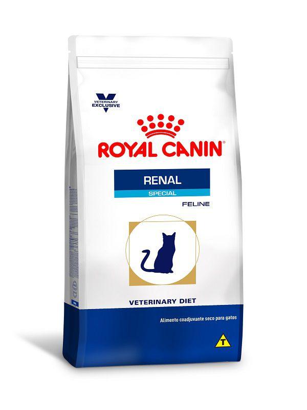 Ração Royal Canin Renal Special Dry Gatos Adultos