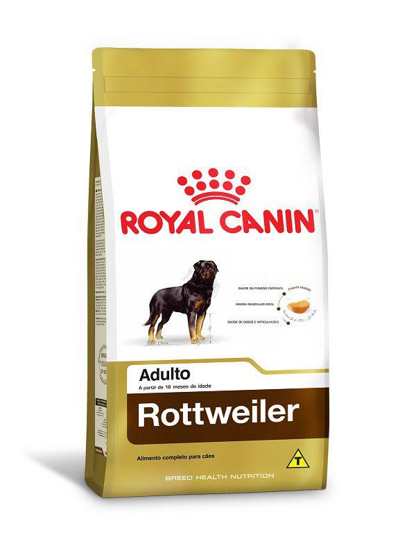 Ração Royal Canin Rottweiler Cães Adultos 12kg