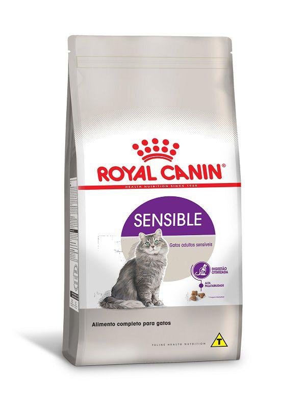 Ração Royal Canin Sensible Gatos Adultos