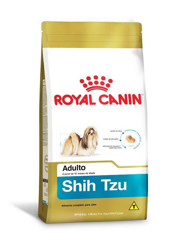 Ração Royal Canin Shih Tzu Cães Adultos