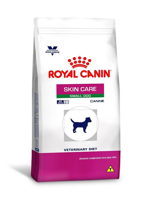Ração Royal Canin Skin Care Cães Adultos Raças Pequenas