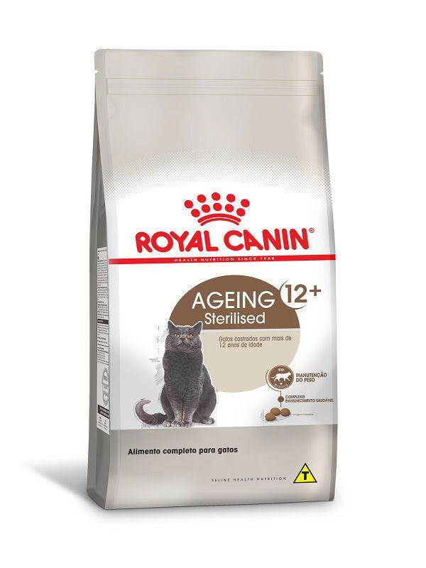 Ração Royal Canin Sterilised 12+ Gatos Adultos
