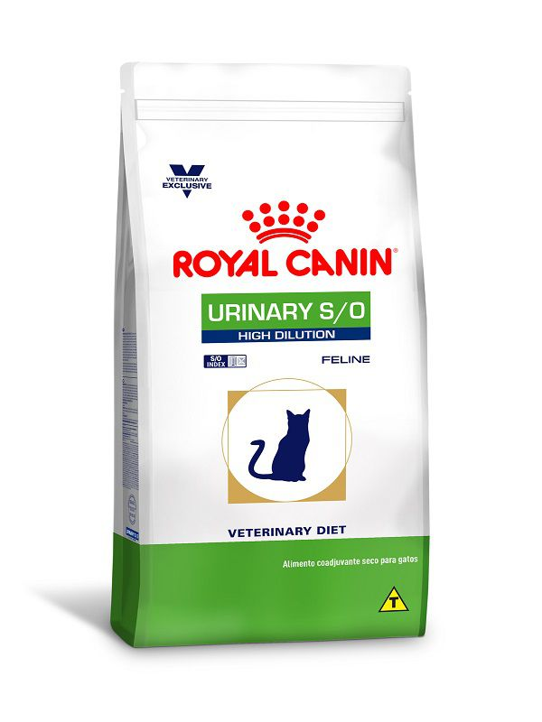 Ração Royal Canin Urinary S/O High Dilution Gatos Adultos