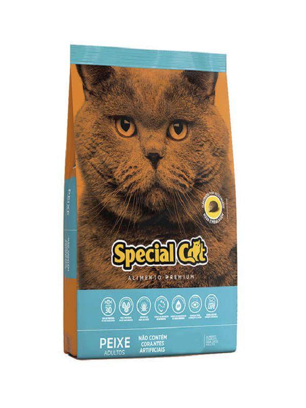 Ração Special Cat Gatos Adultos Peixe