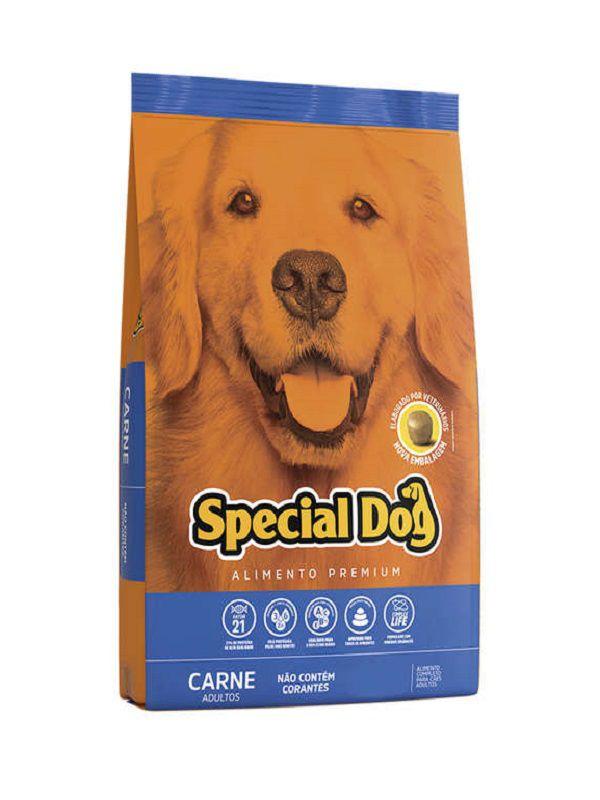 Ração Special Dog Cães Adultos Carne