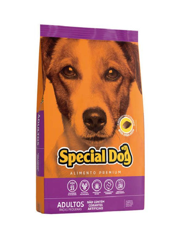 Ração Special Dog Cães Adultos Raças Pequenas 20 Kg