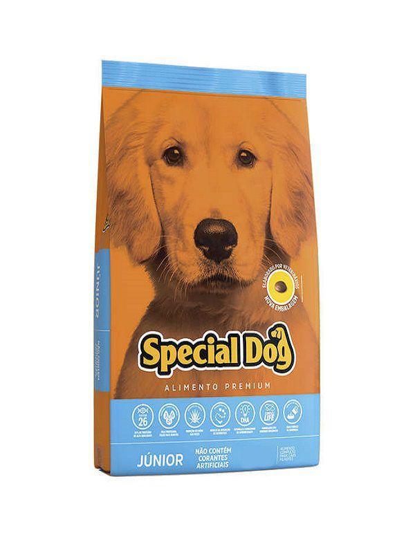 Ração Special Dog Júnior Cães Filhotes 20 Kg