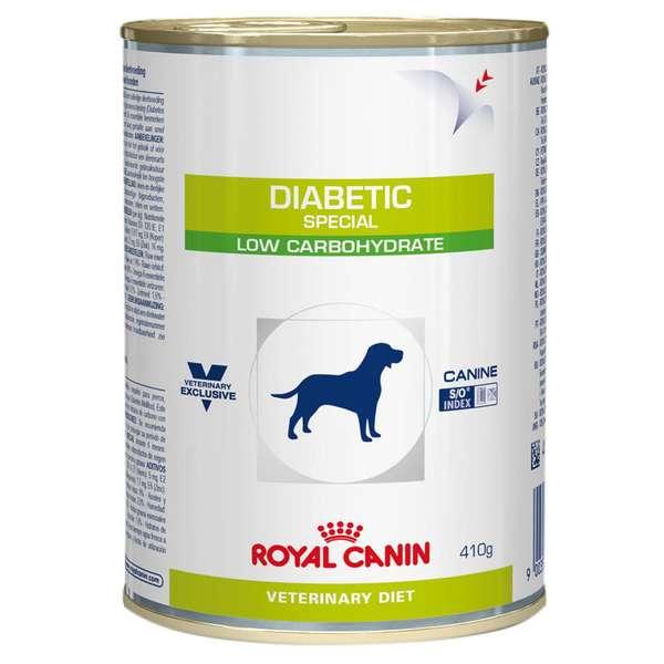 Ração Úmida Royal Canin Diabetic Special Low Carbohydrate Cães Adultos 410g