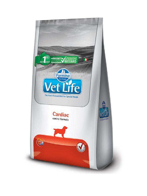 Ração Vet Life Cardiac Cães Adultos 2Kg