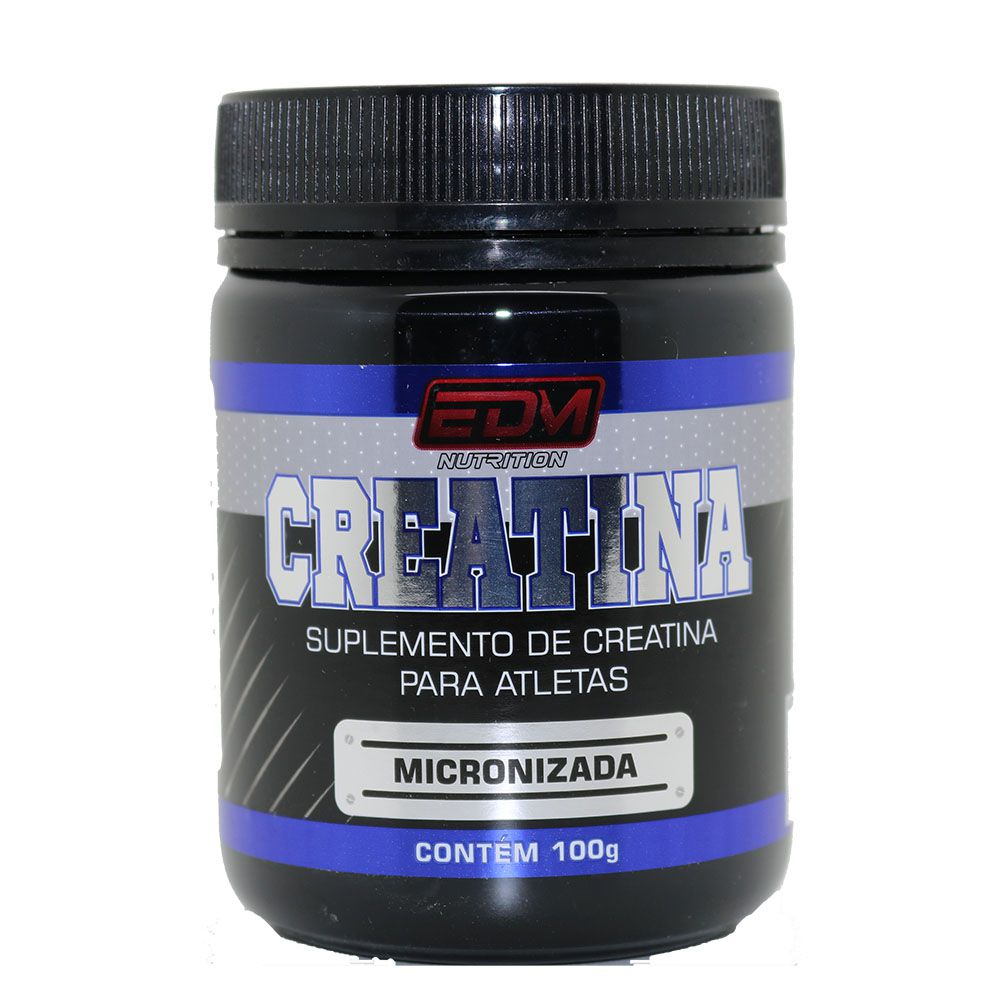 10x Creatina Monohidratada Micronizada 100g EDM Nutrition