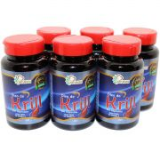 6x Oleo De Krill 500mg Omega 3 60 Caps EPA 188 - DHA 121