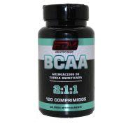 8x BCAA 2:1:1 com B6 120 comprimidos EDM Nutrition