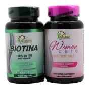 Biotina + Hair Skin Nails Crescimento Firmeza Queda