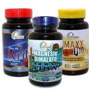 Magnesio Dimalato Krill Coenzima Q10 Luteina Zeaxantina