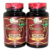 Omega 3 1000mg 60 Capsulas Naturcaps 2 Potes