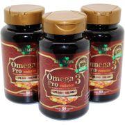Omega 3 Concentrado 33/22 Antioxidante - Naturcaps - 3 Potes