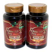 Omega 3 Concentrado 33/22 Antioxidante - Naturcaps Naturgen - 2 Potes