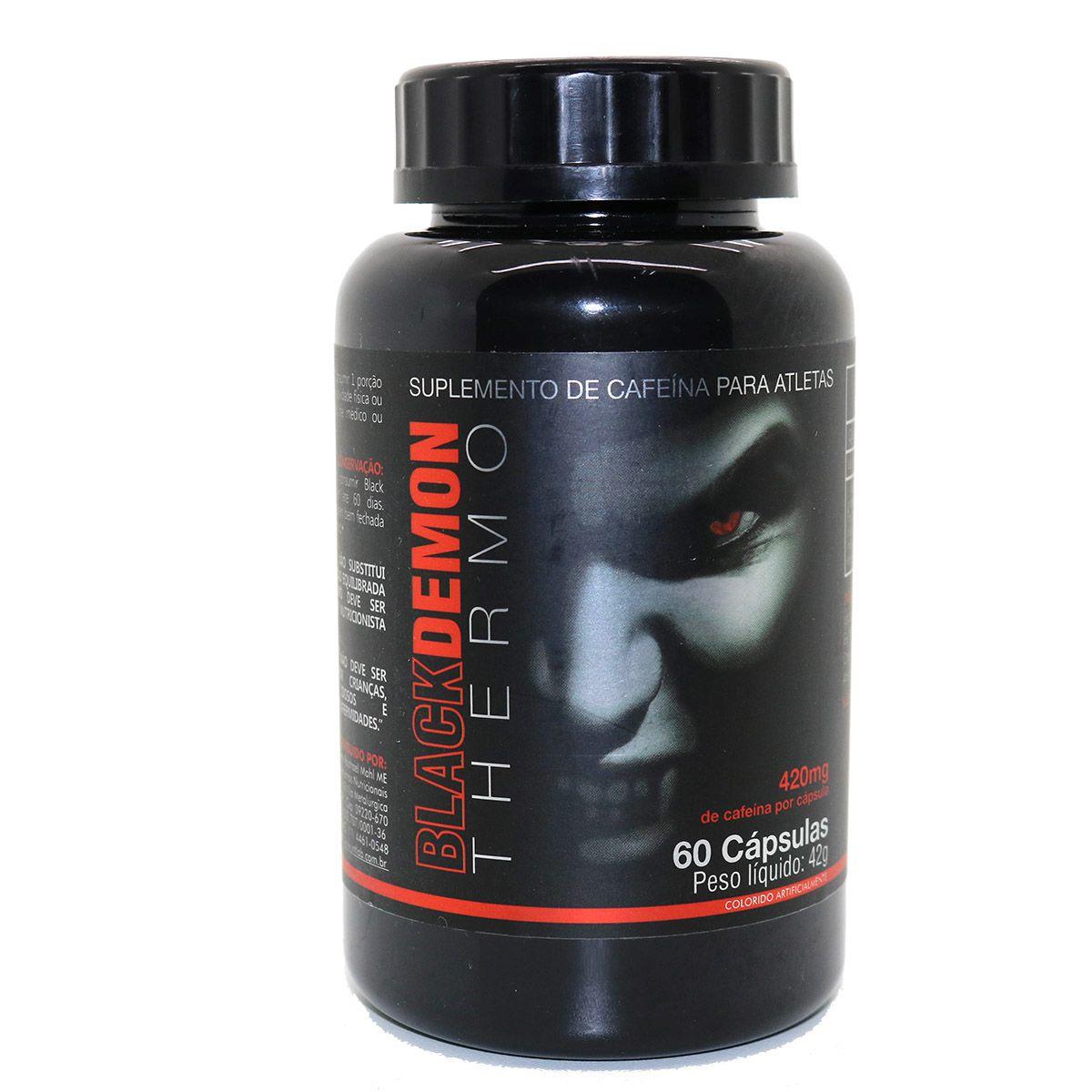 Black Demon Termogênico 60 Cápsulas - Intlab